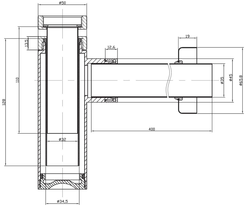 Technical drawing B3-12483 / BTR0402C