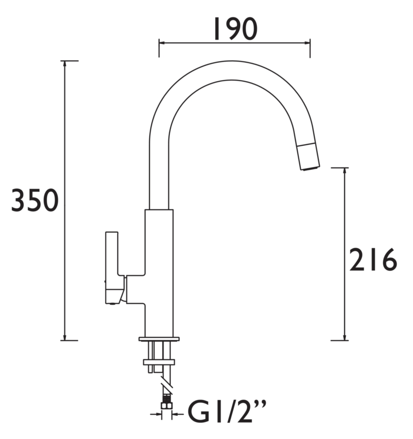 Technical drawing B3-21449 / MLB SNK BLK