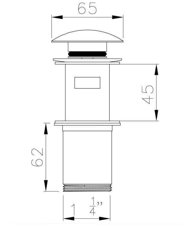 Technical drawing B3-15859 / AB2422