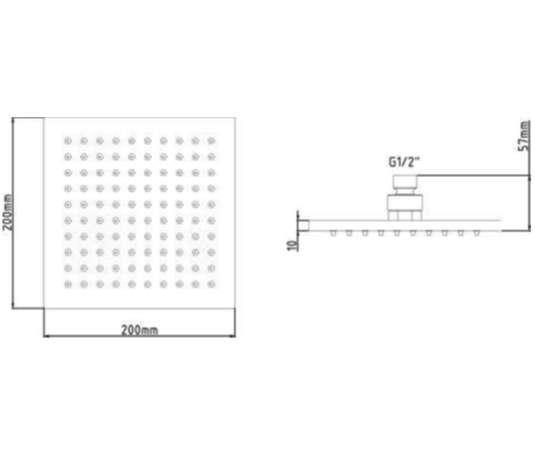 Technical drawing B3-12216 / STY070