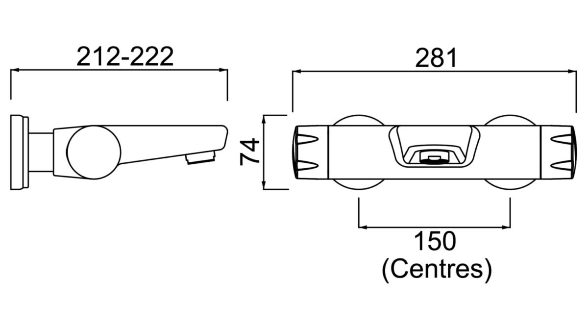 Technical drawing B3-21477 / OP THBF WMH C