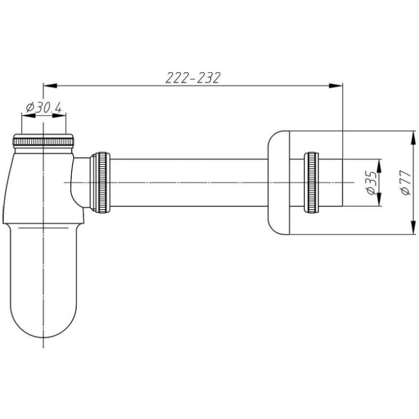 Technical drawing B3-12219 / EA370