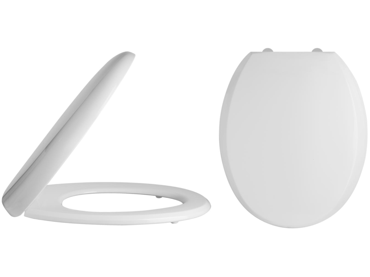 Lauren Luxury Round Top Fix Soft Close Toilet Seat And Cover