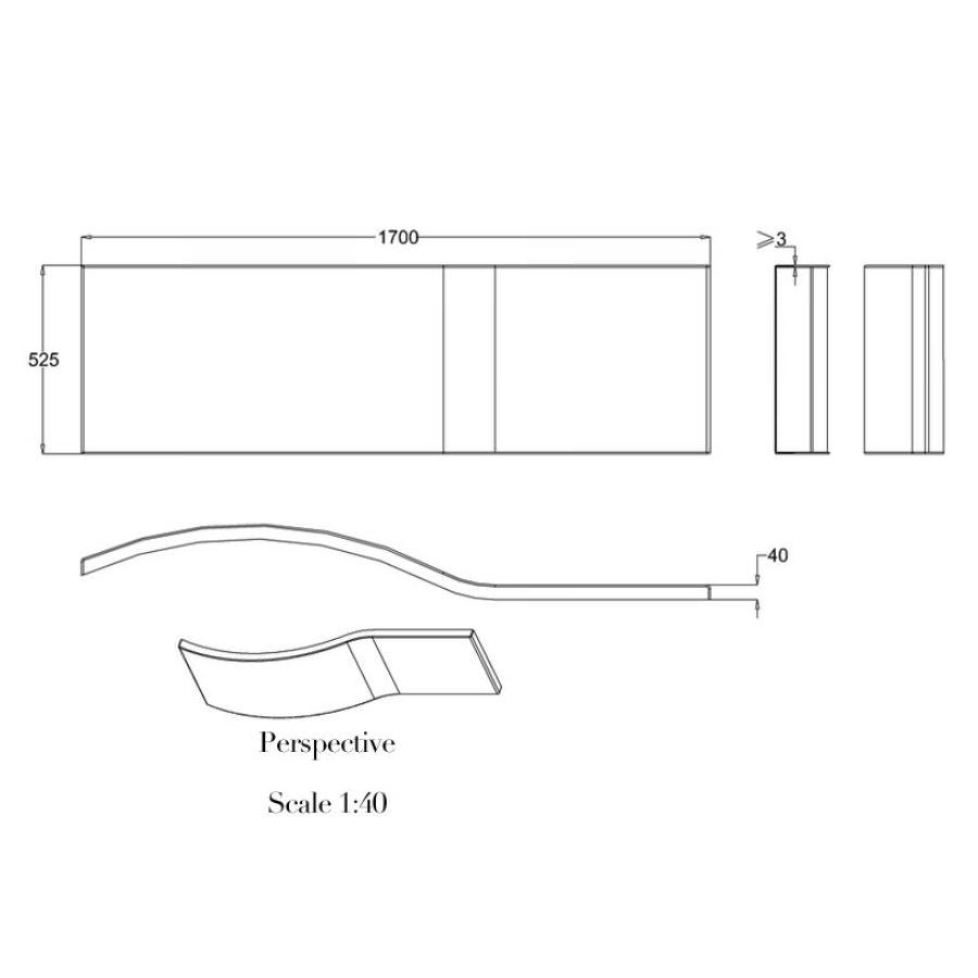 Technical drawing B3-14624 / R22F