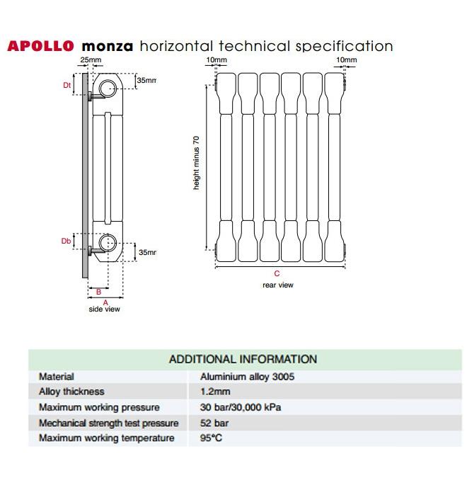 Technical drawing B3-21310 / AL2C5H400