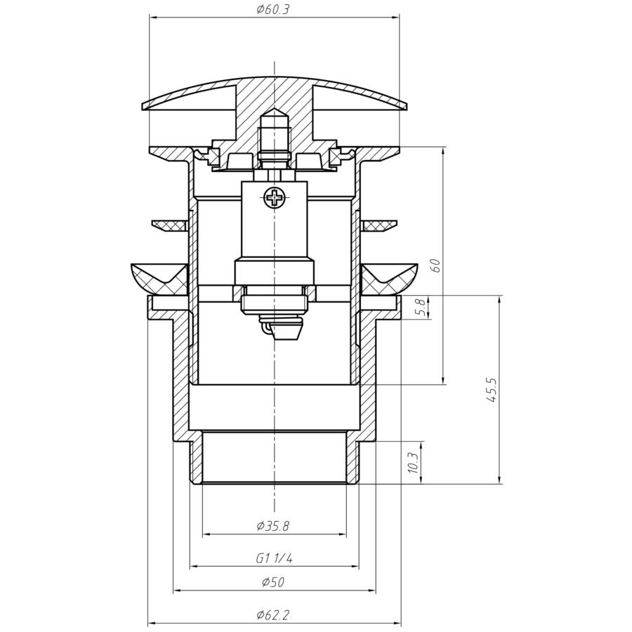 Technical drawing B3-12224 / MBWA0102