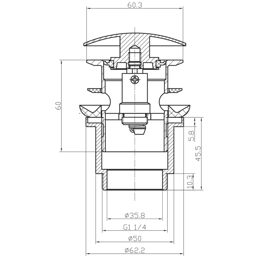 Technical drawing B3-12222 / MBWA0103