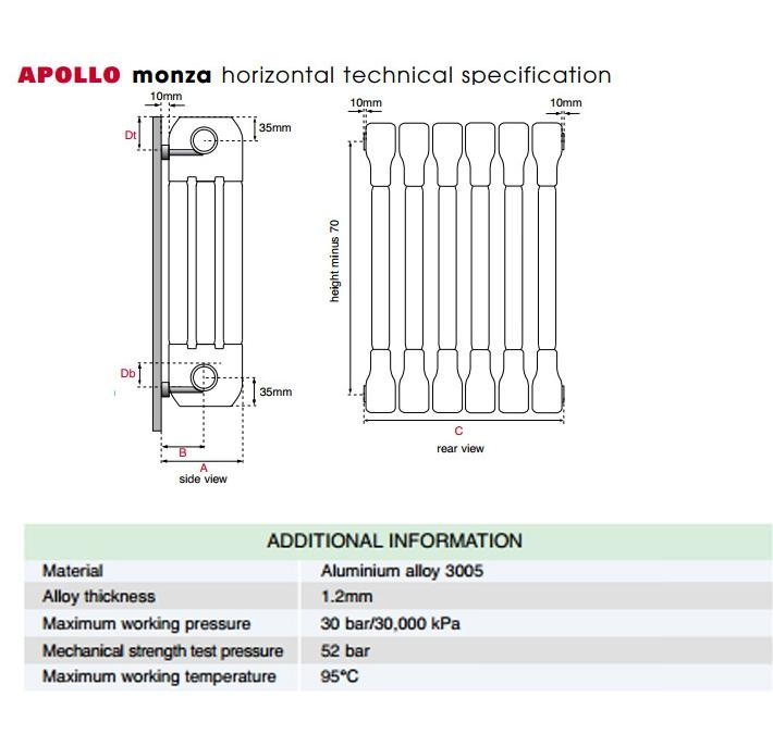 Technical drawing B3-21311 / AL3C5H400