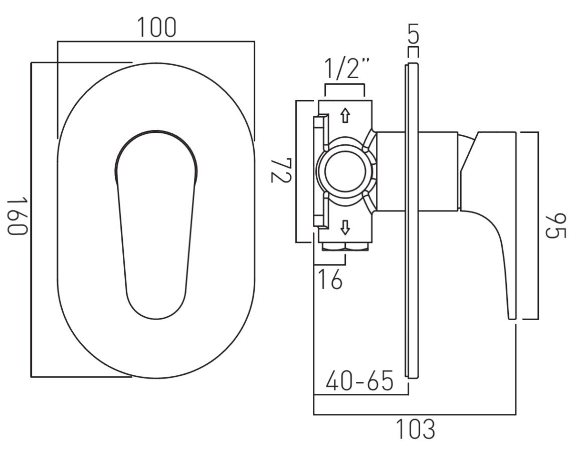 Technical drawing B3-19289 / ASC-145A-C/P