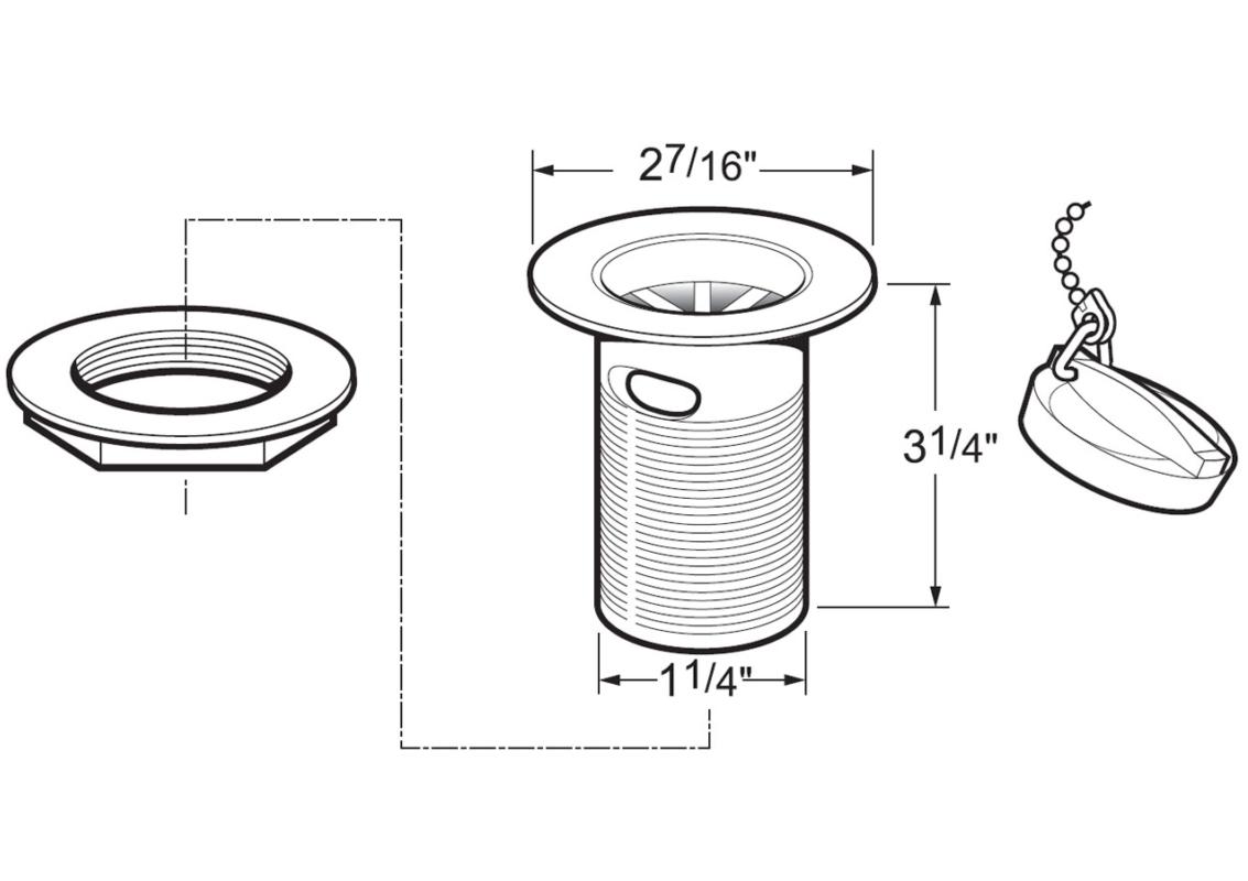 Technical drawing B3-15893 / DW300/501