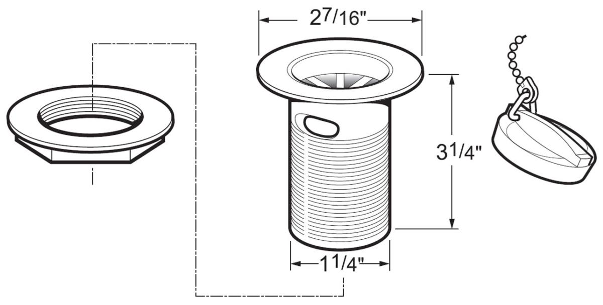 Technical drawing B3-15896 / DW300/017