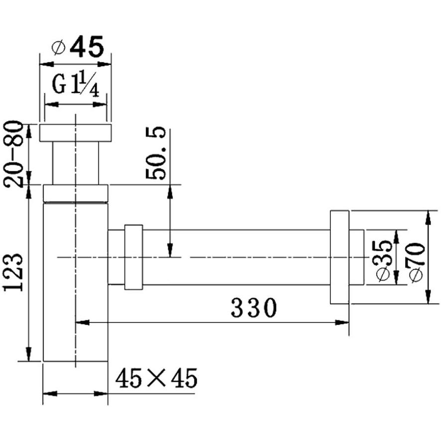 Technical drawing B3-23060 / SB200