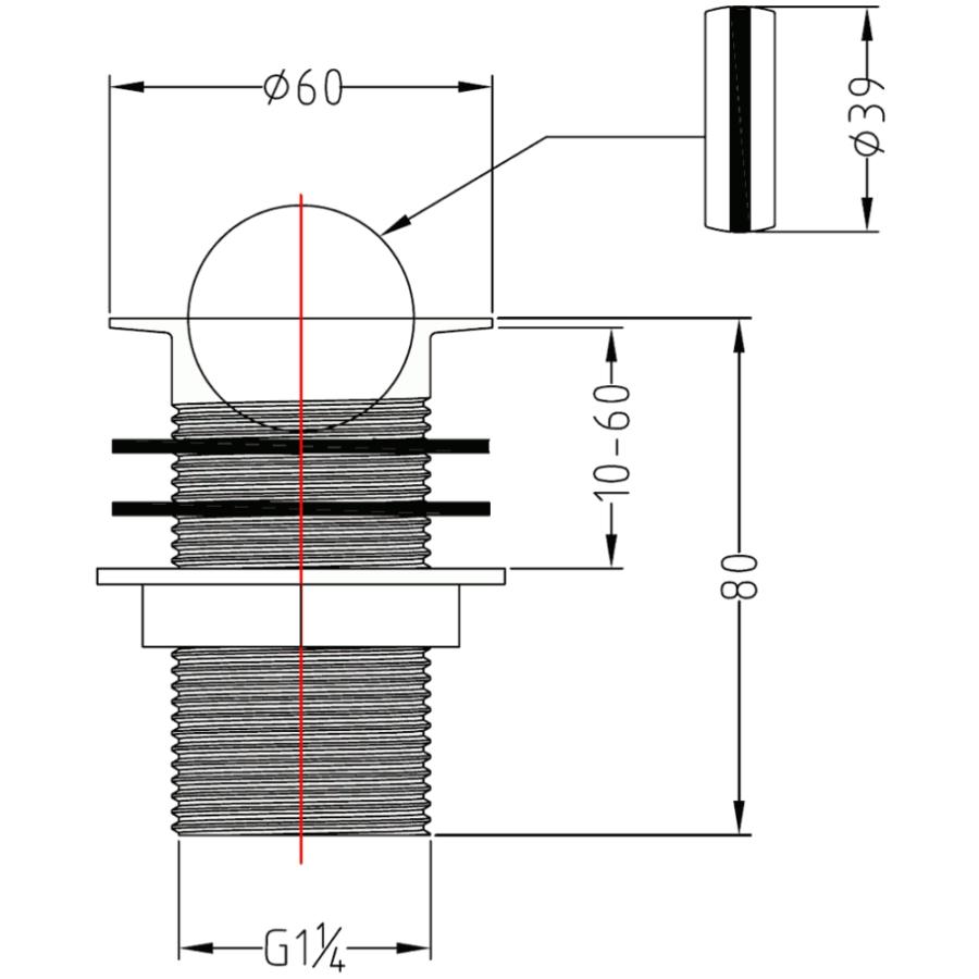 Technical drawing B3-23071 / FW101
