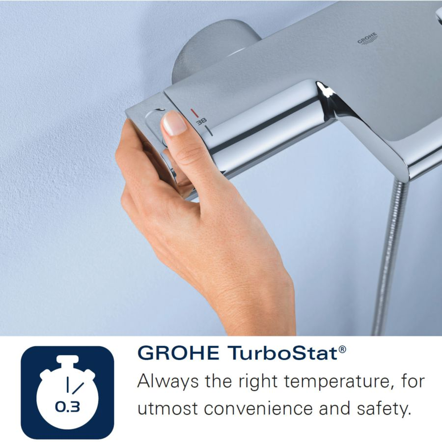 Grohe Grohtherm Cube. Great Zestaw Prysznicowy Grohe Grohtherm Cube ...
