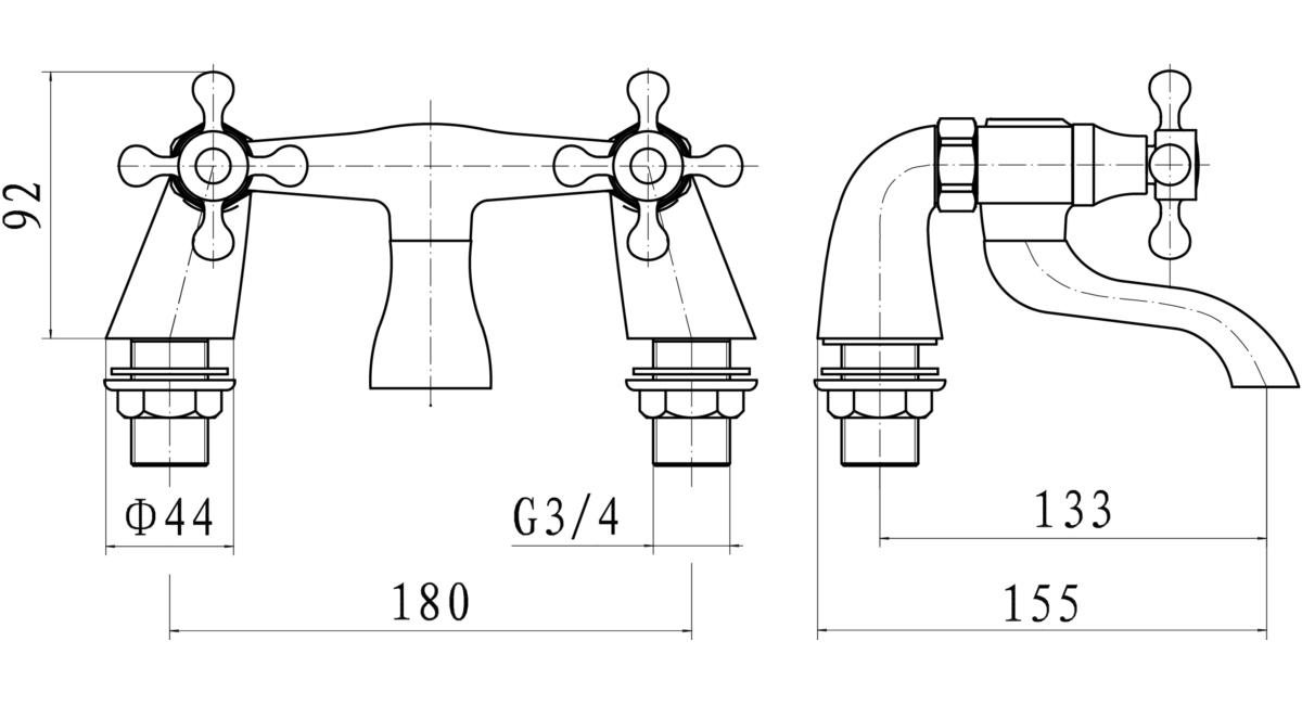 Technical drawing B3-15345 / ALB003