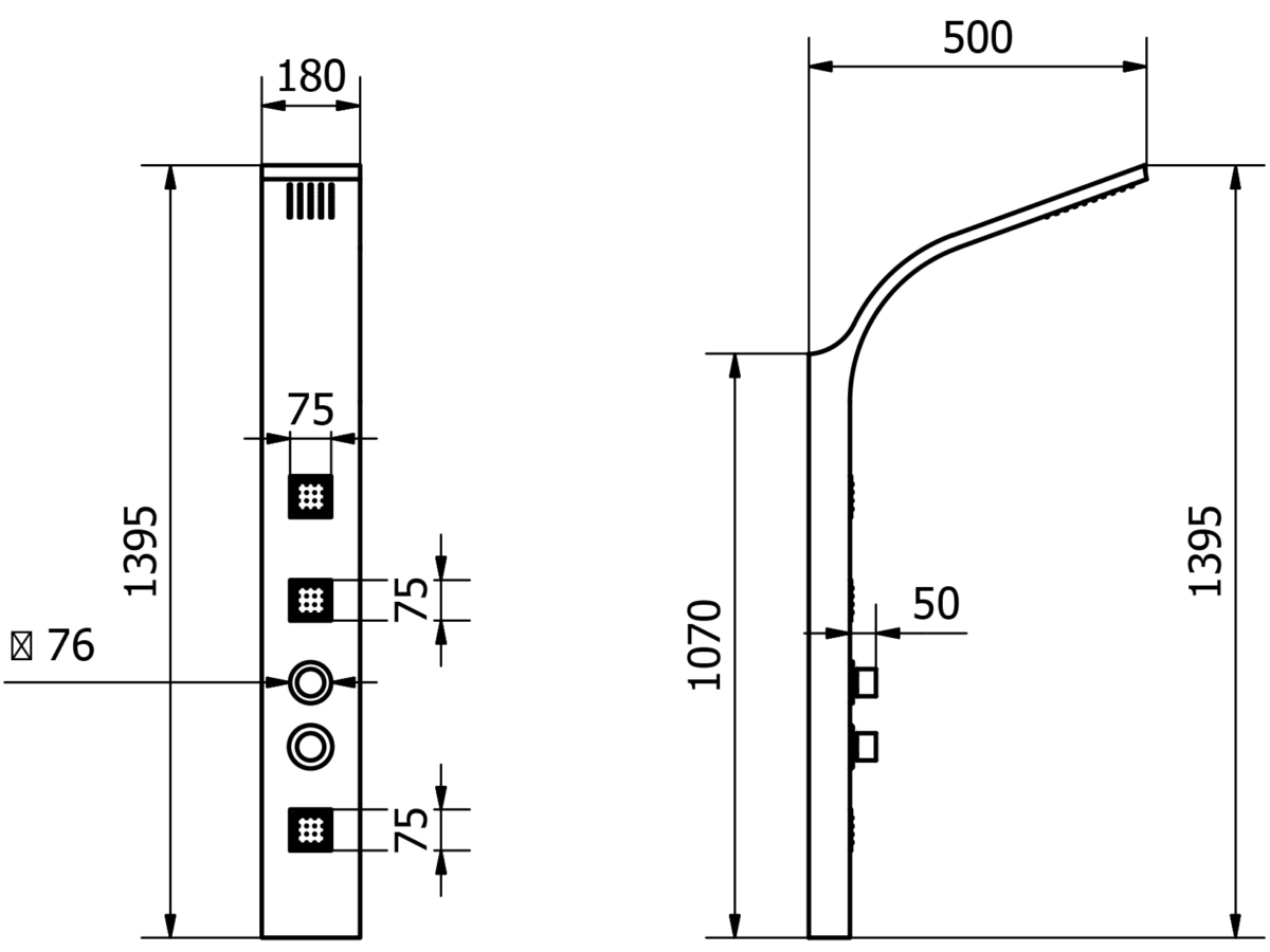 Technical drawing B3-14422 / WSP001