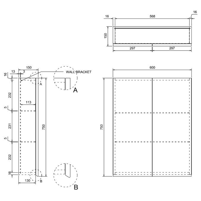 Technical drawing B3-14263 / AC20G