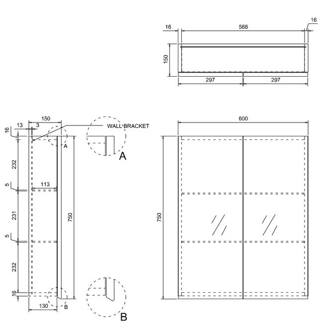 Technical drawing B3-14266 / AC40W