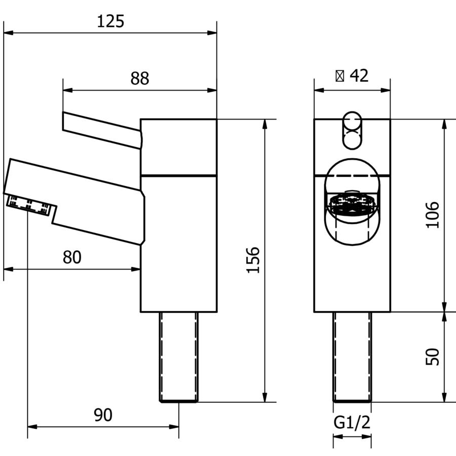 Technical drawing B3-15358 / DAL006