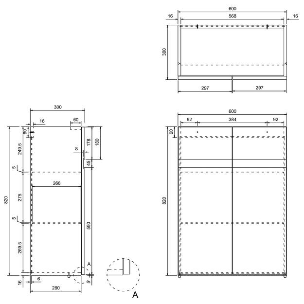 Technical drawing B3-14291 / AD33G
