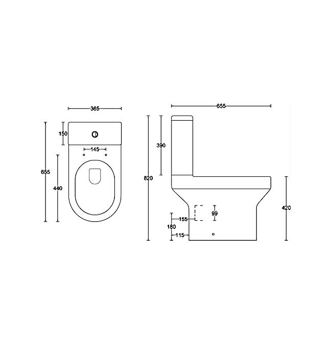 Technical drawing B3-15381 / MON001