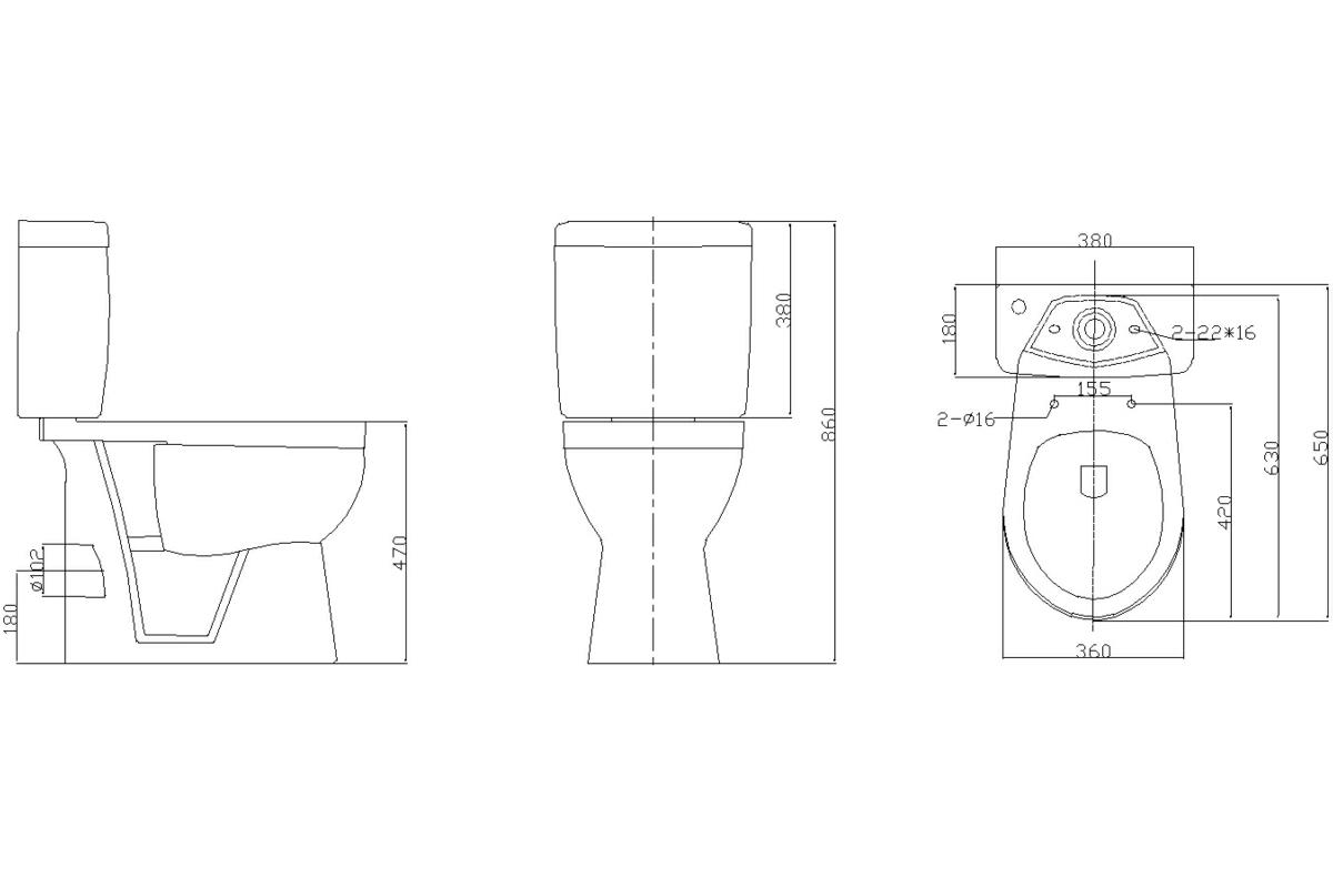 Technical drawing B3-15373 / CH-PC02