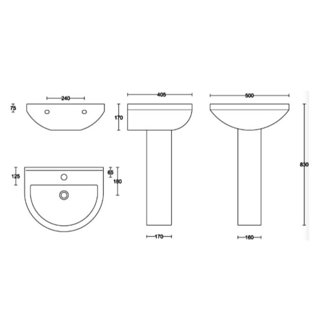 Technical drawing B3-15382 / MON002