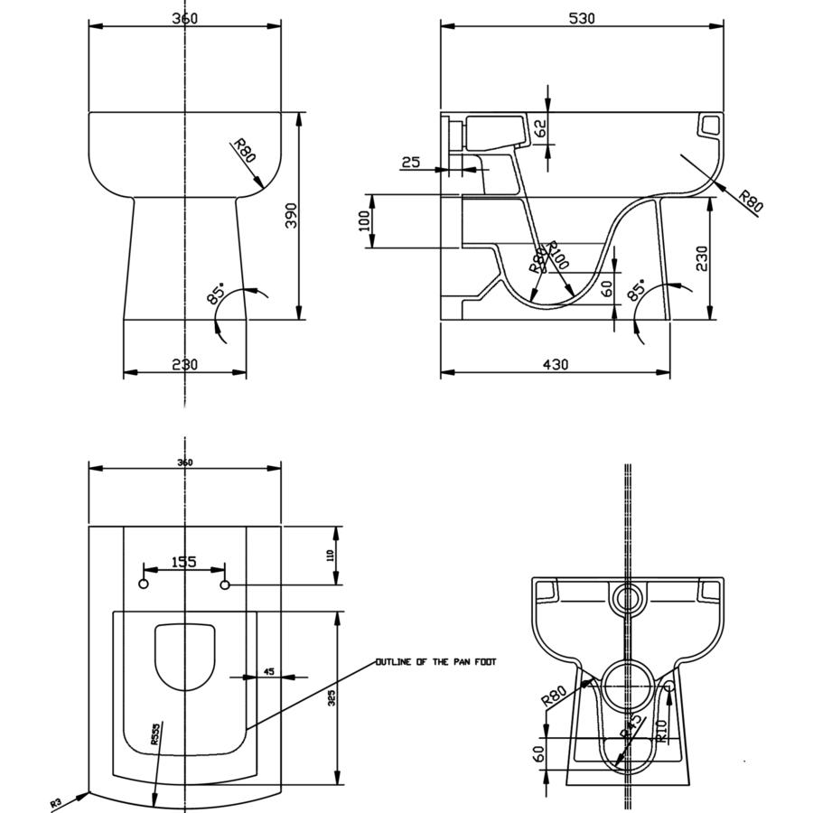 Technical drawing B3-15386 / DAYLOU-BTWIBOM
