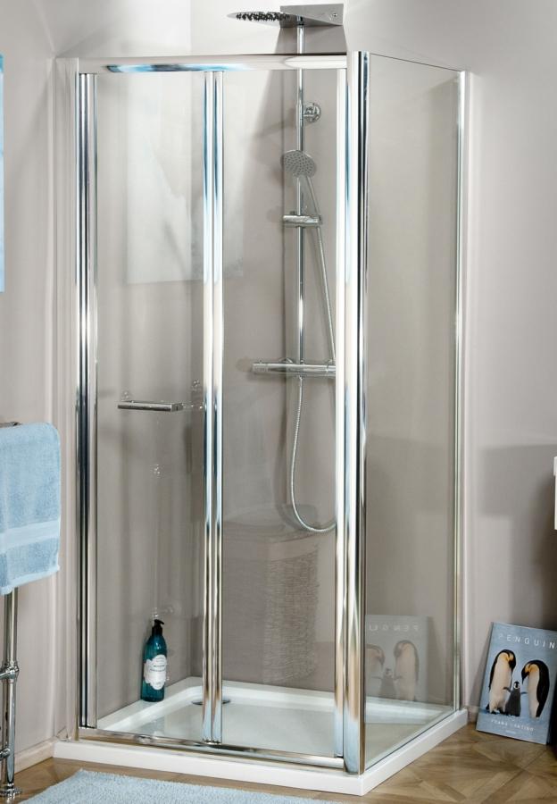 Montage Bi Fold Shower Door 700mm
