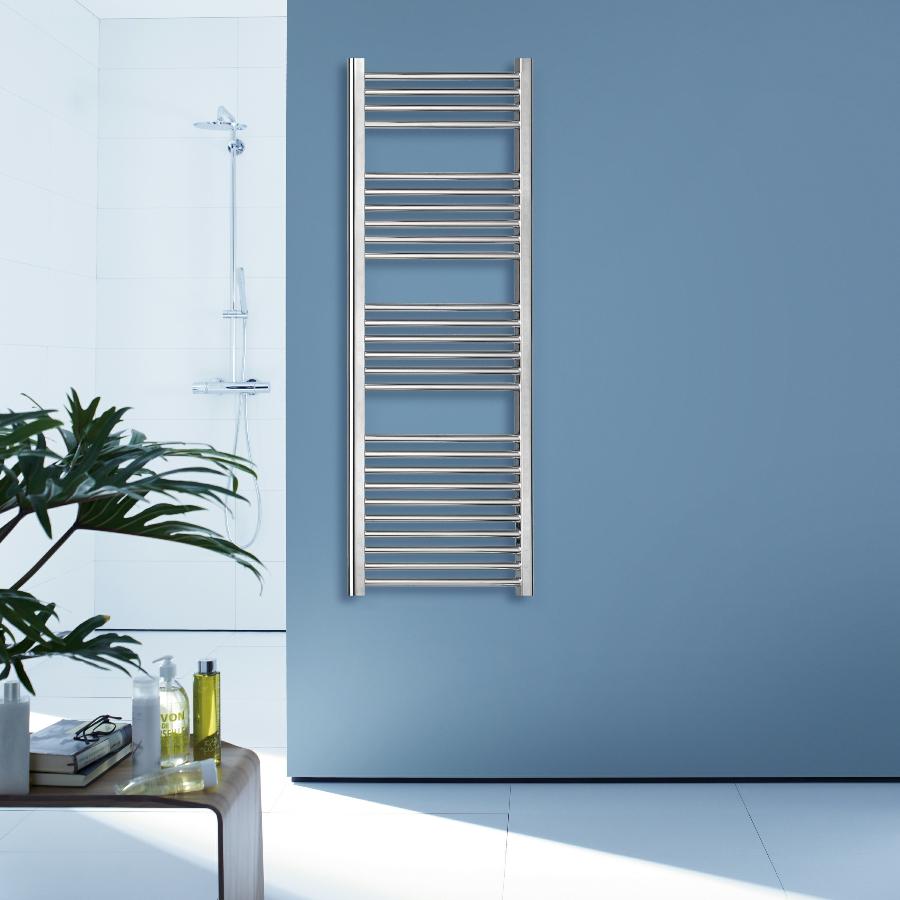 Redroom Elan Straight Chrome Towel Warmer 500 x 800mm