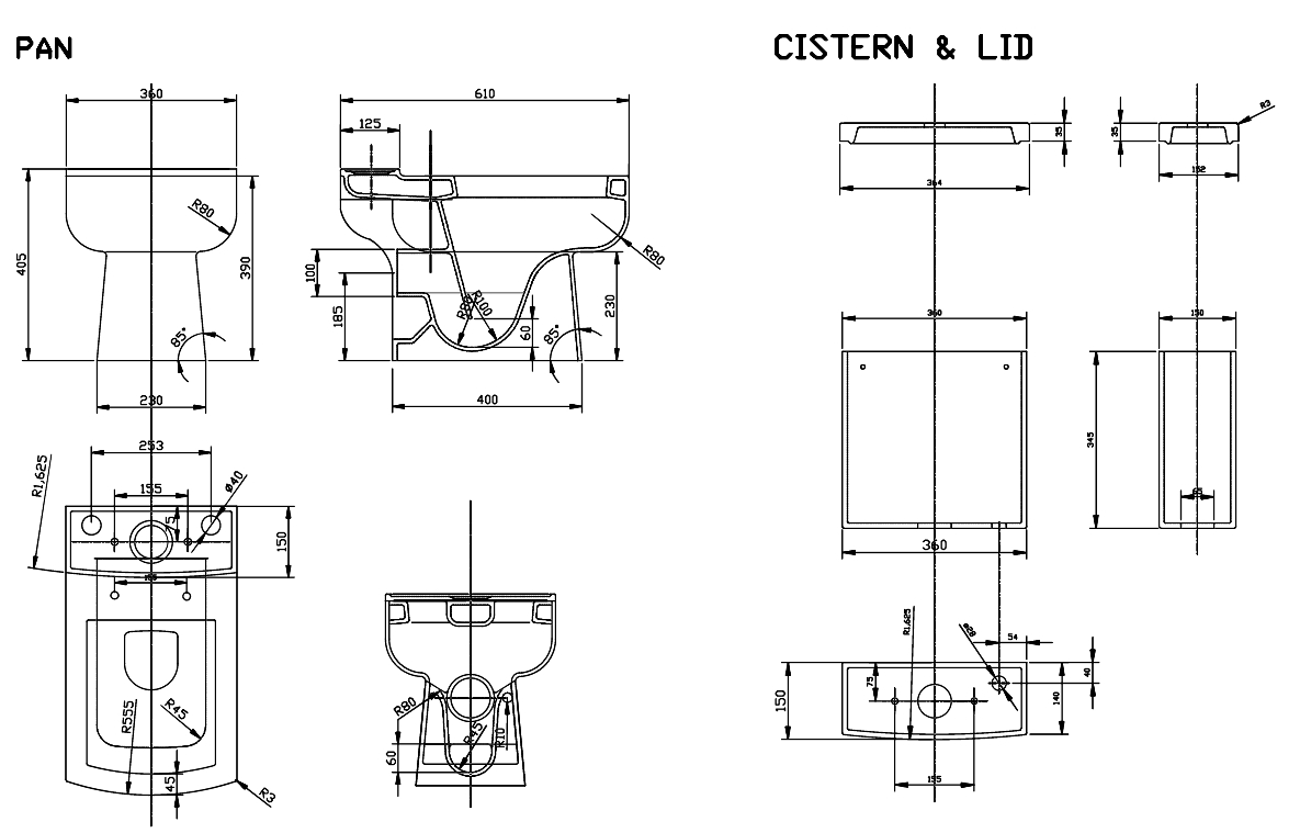 Technical drawing B3-15383 / DAY001