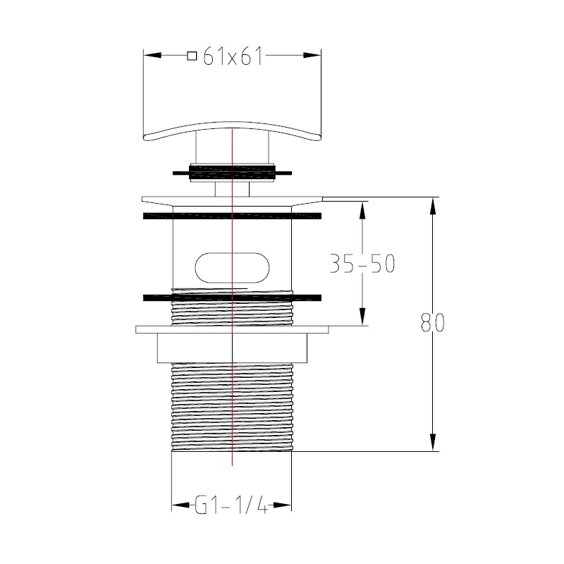 Technical drawing B3-15414 / SQW01