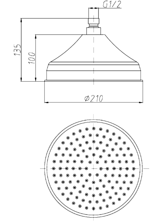 Technical drawing B3-14435 / TRH08