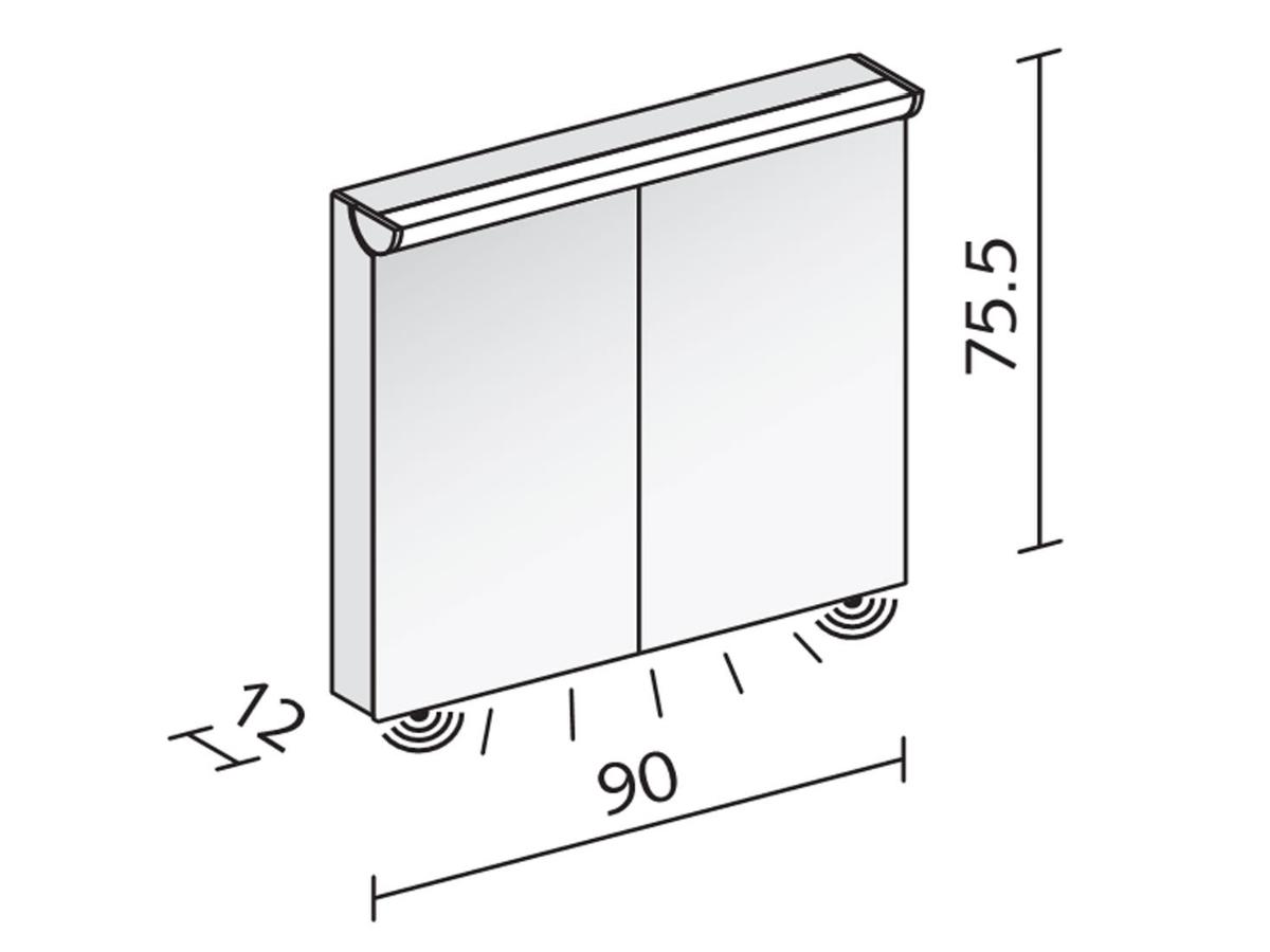 Technical drawing B3-19047 / FLI 90/2/FL
