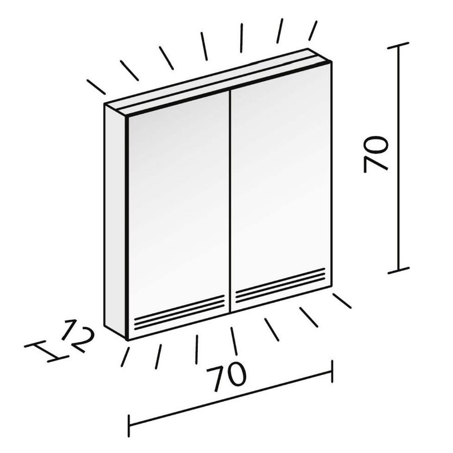 Technical drawing B3-19052 / GRL 70/2/FL