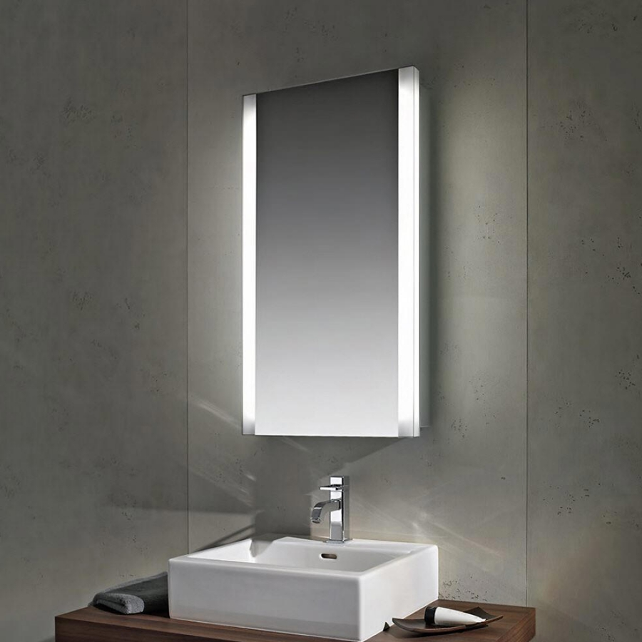 Schneider Slideline 480mm Single Sliding Mirror Door Cabinet