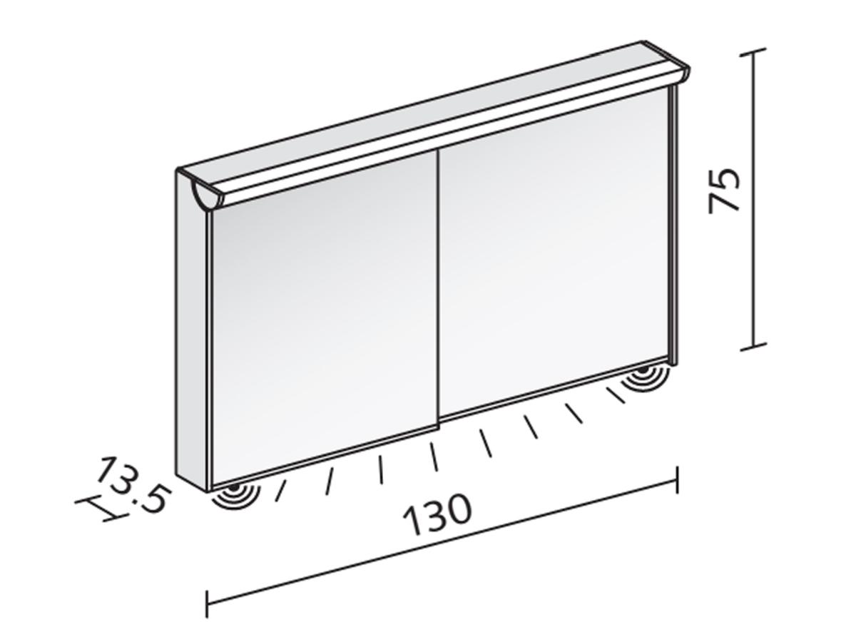 Technical drawing B3-19043 / SLI 130/2/FL