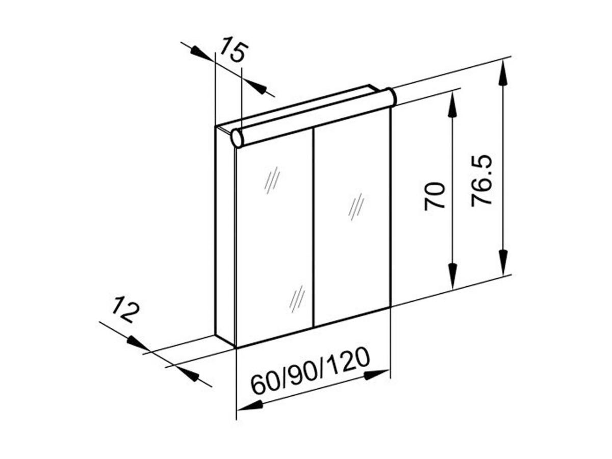 Technical drawing B3-19065 / PDL 120/2/FL