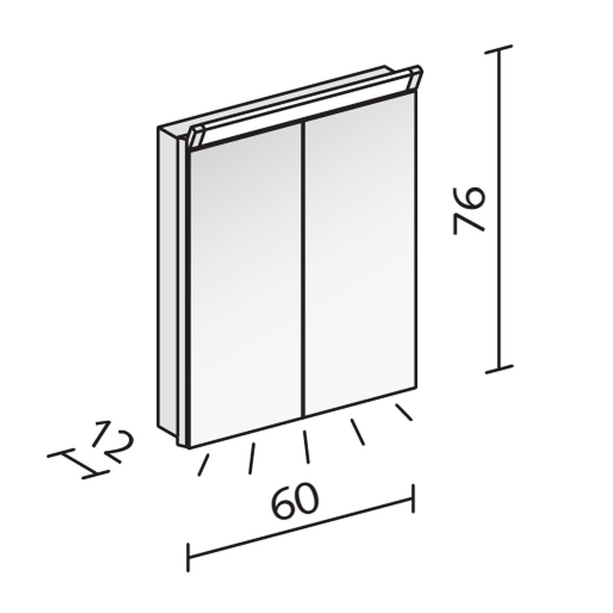 Technical drawing B3-20027 / PAL 60/2/LED