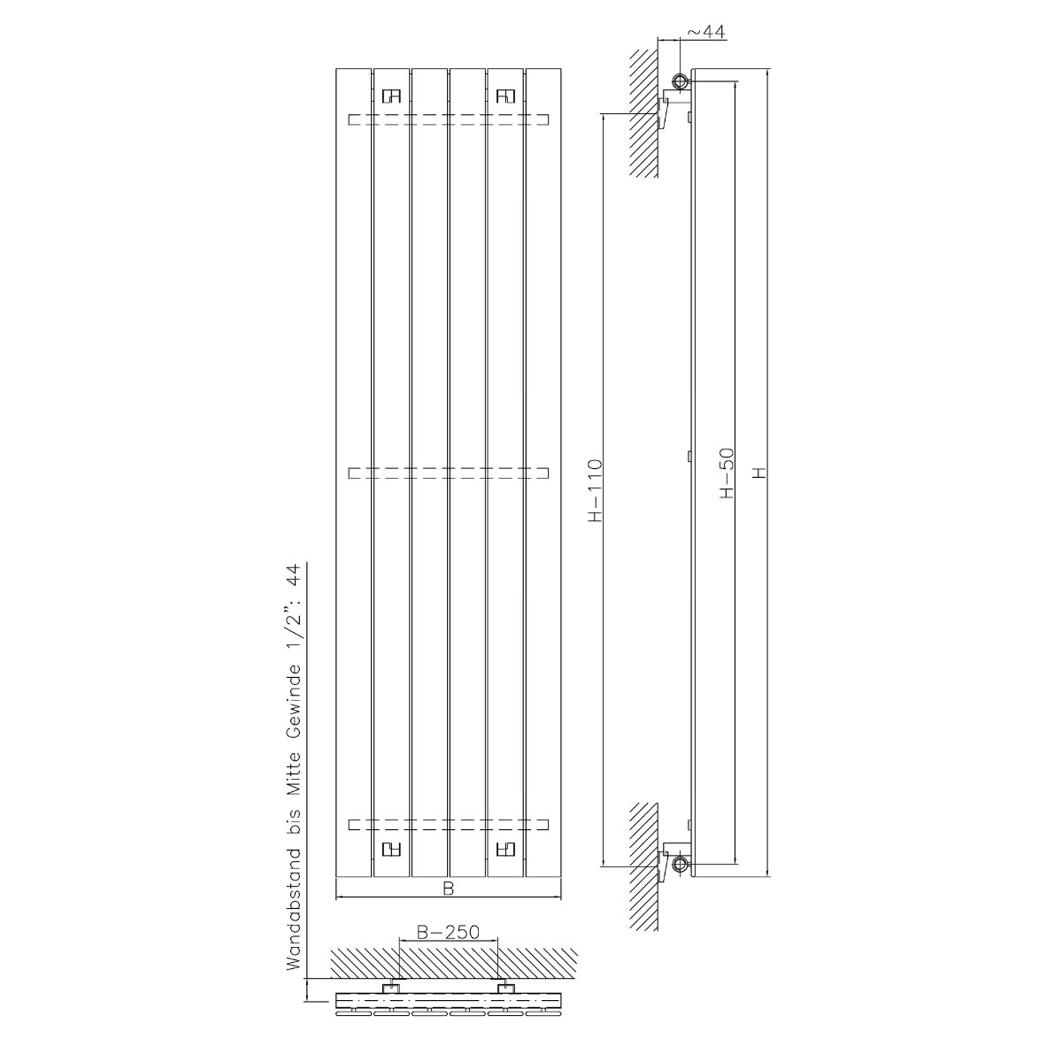Technical drawing B3-20072 /