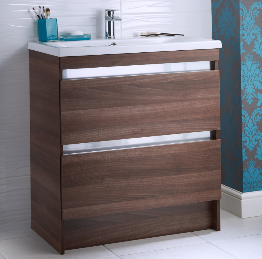 utopia furniture. Alternate Image Of Utopia Qube 800mm Floorstanding 2 Drawer Reduced Unit With Ceramic Basin Furniture E