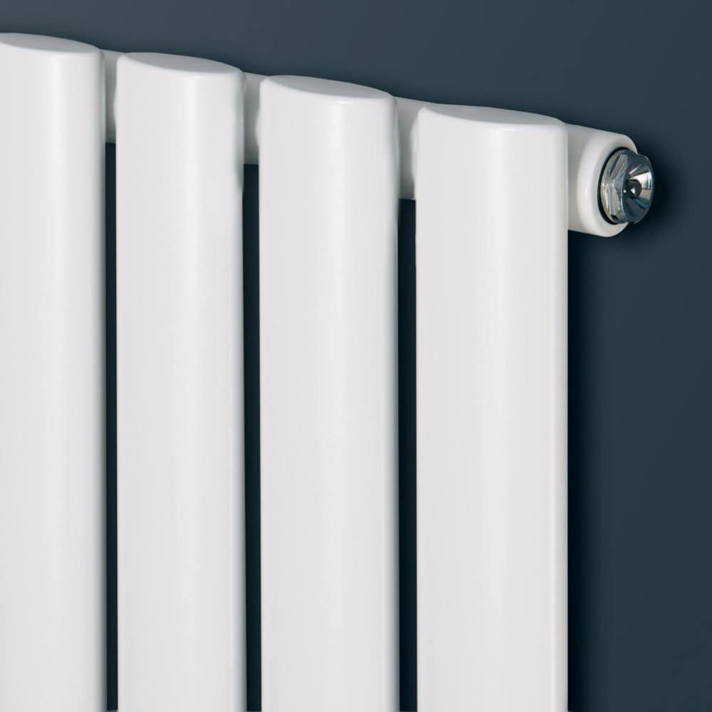 Eucotherm Nova Single Oval Tube Vertical Radiator 236 X 1800mm