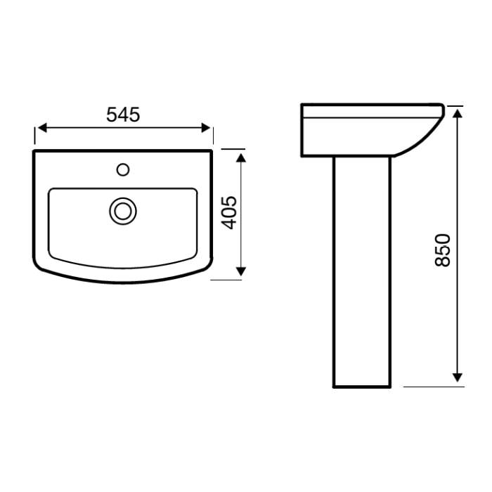 Technical drawing B3-19188 / POT606AS