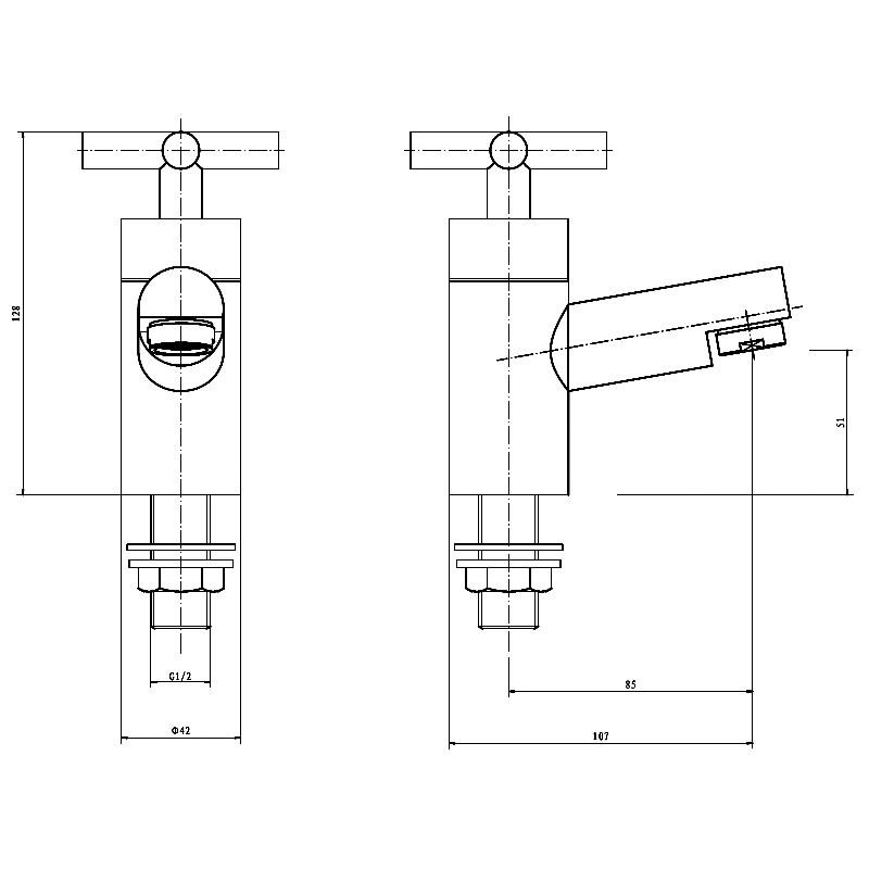 Technical drawing B3-10233 / TAP084TI