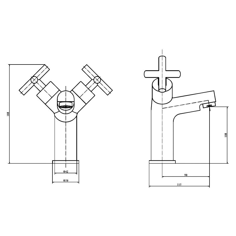 Technical drawing B3-10235 / TAP081TI