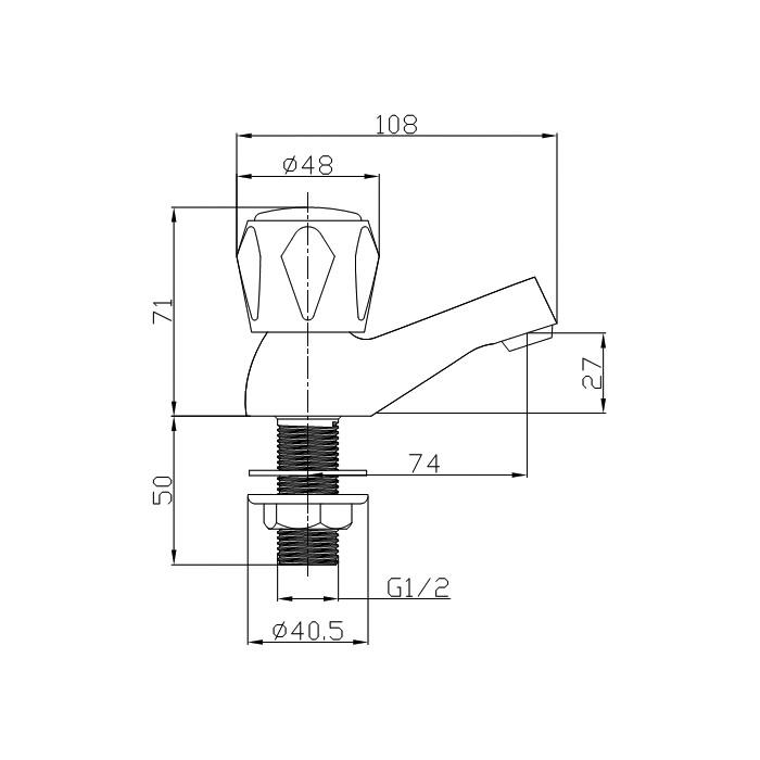Technical drawing B3-10246 / TAP160AL
