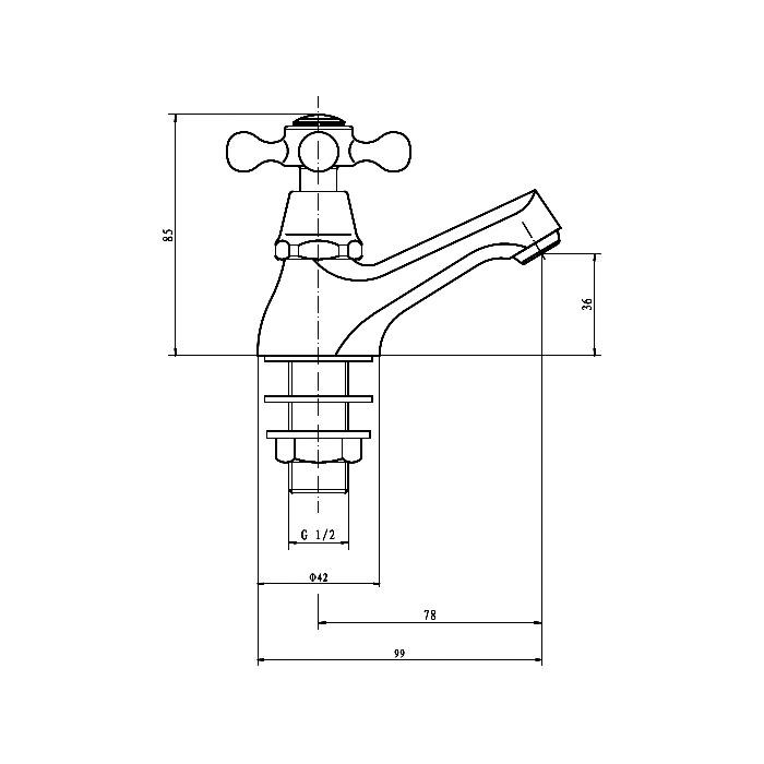 Technical drawing B3-10256 / TAP093VI