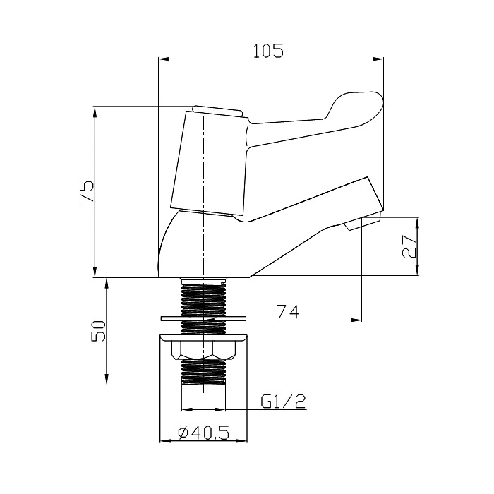 Technical drawing B3-10261 / TAP170LE