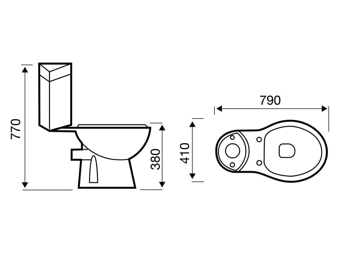 Technical drawing B3-19253 / POT180G4K