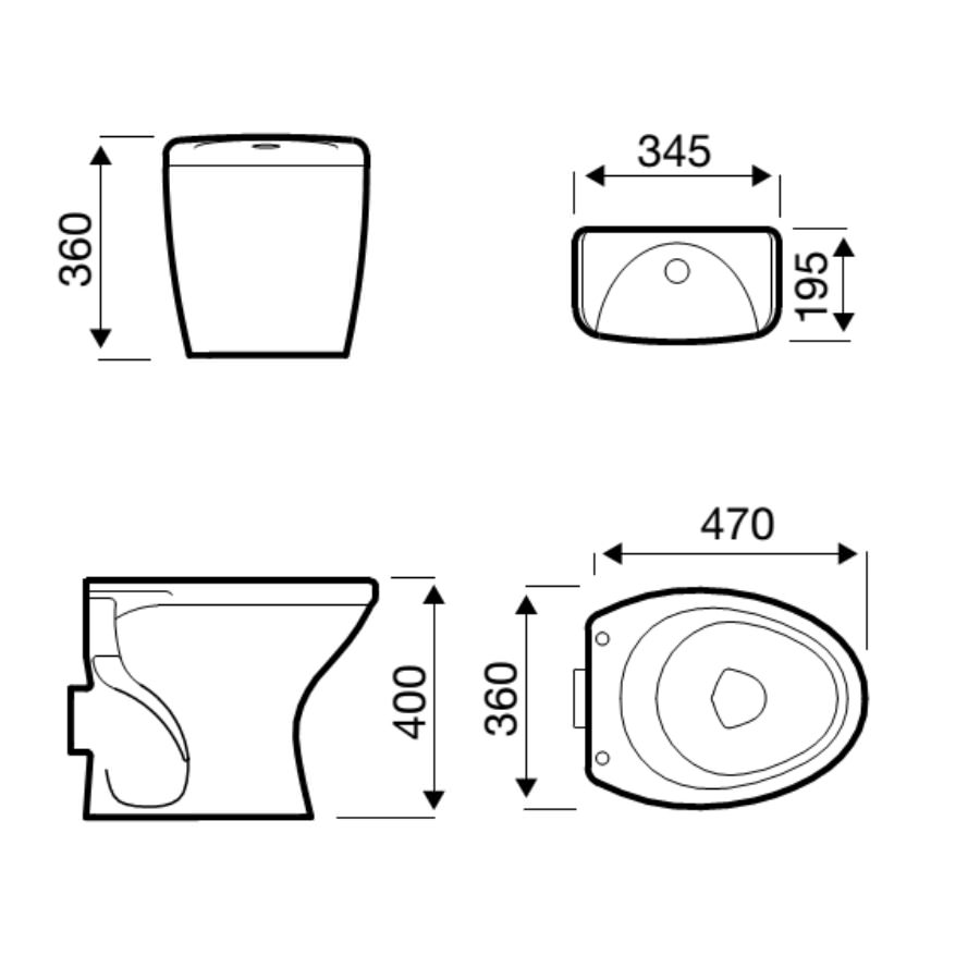 Technical drawing B3-19267 / POT051AL